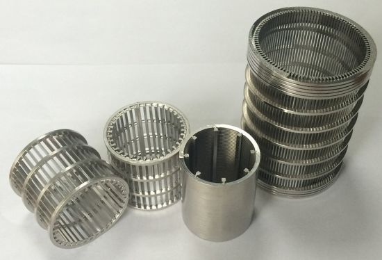 Stainless Steel Wedge Wire Filter Screen pictures & photos