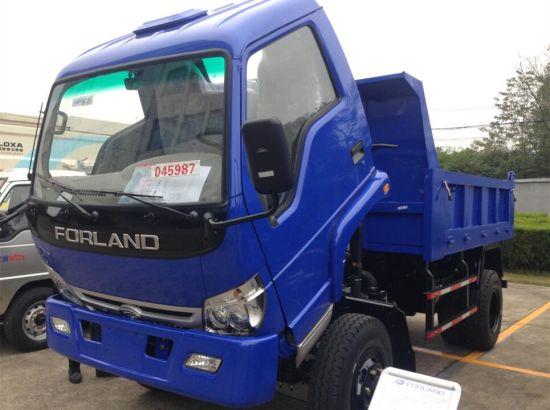 China Forland 4X4 Light Dump Truck - China Light Dump Truck