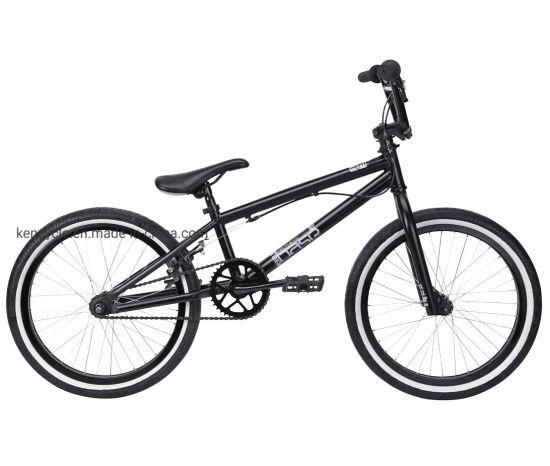 """BMX Bicycle Handlebar Steel 22.2mm Black fixie cruiser mountain bike 4/""""rise"""