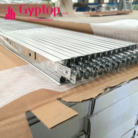 Panel Installation T Bar Ceiling Grid