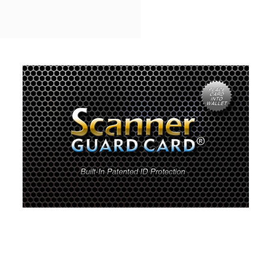 Amazon Best Sale Smart NFC Block/RFID Signal Blockingcard for Travel