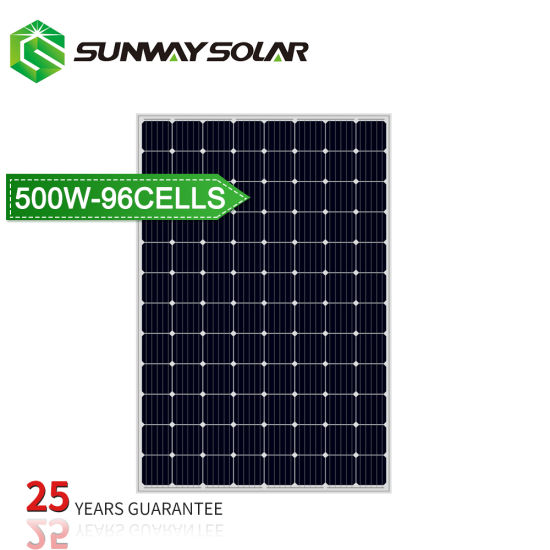 a Class High Quality 500W Monocrystalline Flexible Solar Power Panel