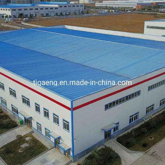 Good Insulated Light Structural Steel Frame Prefabricated Poultry Structure House