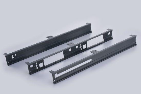 Aluminium Extrusion Face Plate for Audio Panel