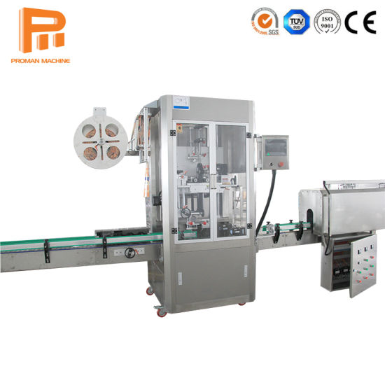 High Speed Labeling Machine/ Sleeve Labeling Machine for PVC/ Label Machine