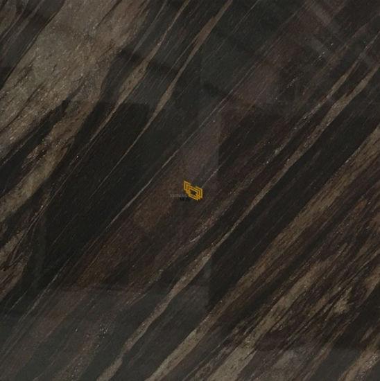 Polished Natural Fantasy Brown Granite Tiles 30X30