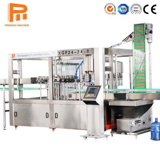 Complete Bottle Water Filling Machine/Water Bottling Plant/Mineral Water Plant Machinery