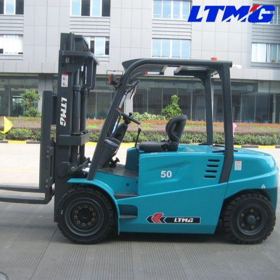 Ltmg Battery Forklift 5 Ton Electric Forklift with 1220mm Fork