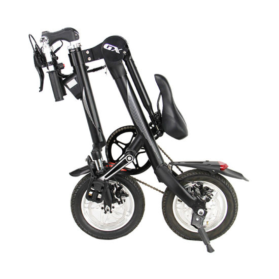 Guangzhou Factory Smart Portable and Foldable Electric E-Bike pictures & photos