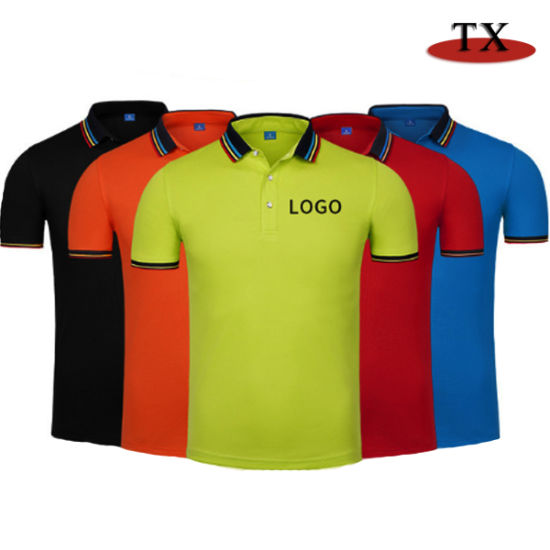 Hot-Sales Polo T-Shirt Lyocell Cotton Polo Shirt pictures & photos