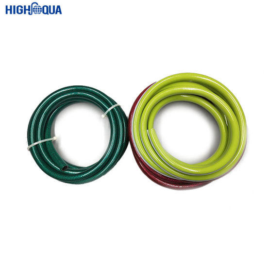 Non-Toxic PVC Garden Hose with Fiber Reinforced Braided