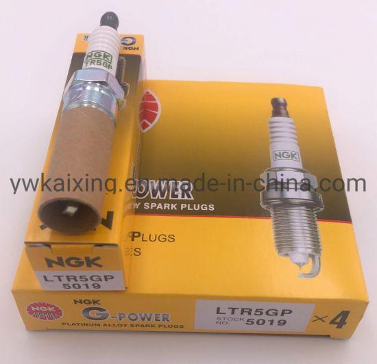 NGK 5019 LTR5GP G-Power Platinum Spark Plugs Set Of 4
