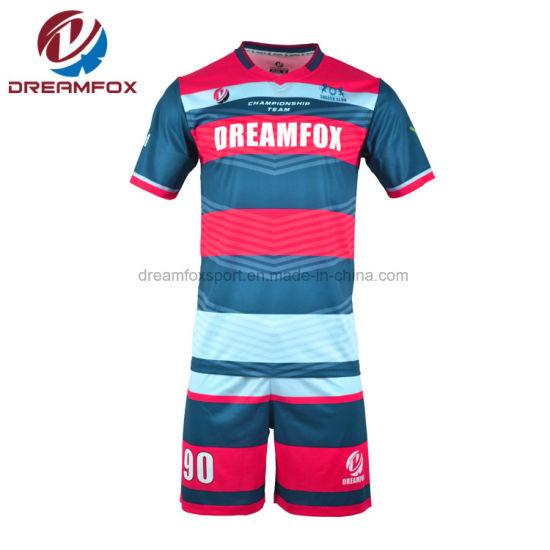 f6f0915644e 2018 Football Jersey Latest Design Hot Teams Soccer Jersey - China ...