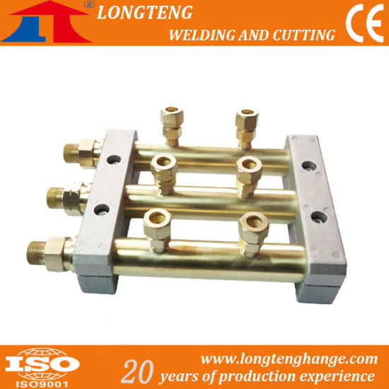 2 Outlet Gas Distributor for CNC Cutting Machine pictures & photos