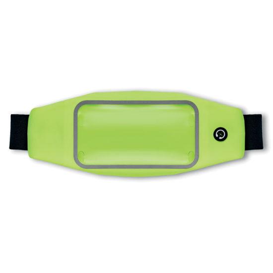 Adjustable Waterproof Waist Bag in Lycra with Customized Logo