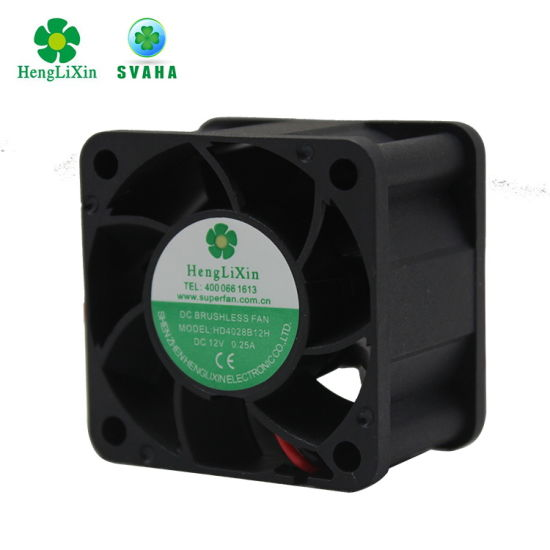 40*40*28mm Sleeve Bearing Brushless Axial Computer Fan pictures & photos