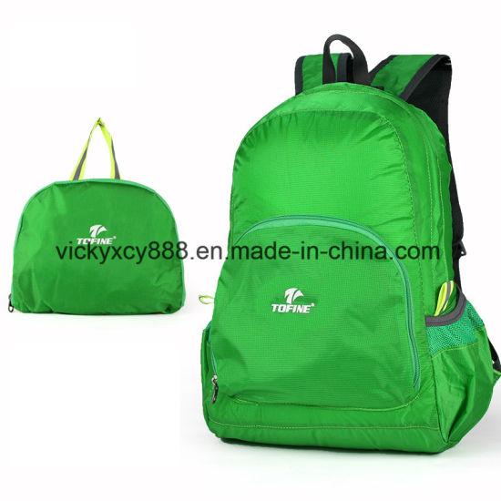 Outdoor Travel Super Light Foldable Double Shoulder Skinbag Bag (CY3302)