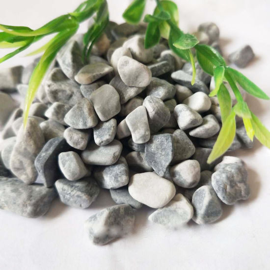 High Quality Decorative Gray Pebble Garden Paving Stone
