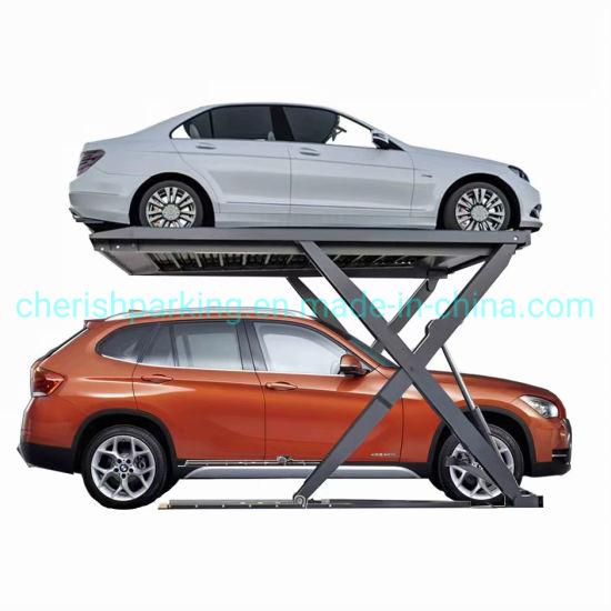 Hydraulic Fixed Scissor Car Parking Lift
