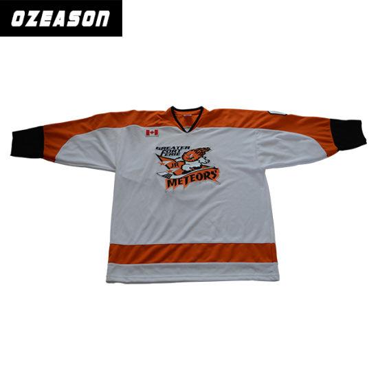 custom kids hockey jersey