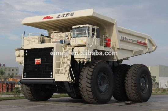 Terex Electric Wheel Mineral Dump Truck Model Nte260 pictures & photos