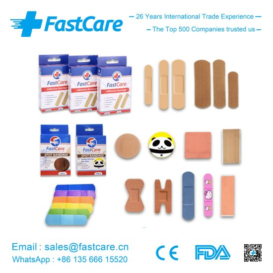 Fastcare Wound Care First Aid Bandage with Ce FDA ISO pictures & photos
