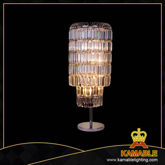 Hotel Design Guest Room Crystal Table Lamp (T80133)