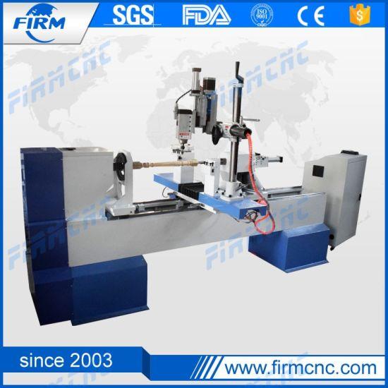 Chinese Automatic CNC Wood Lathe Milling Working Turning Lathe for Railing
