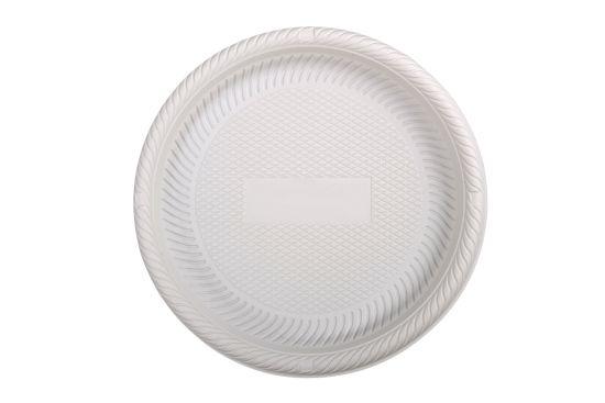 6 Inch Cornstarch Biobased Psm Plastic Round Plate  sc 1 st  Shengzhou Imadel Trade Co. Ltd. & China 6 Inch Cornstarch Biobased Psm Plastic Round Plate - China ...