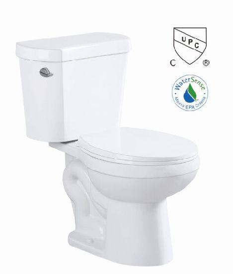 Cupc Bathroom Siphon Two Piece S-Trap 300mm Toilet