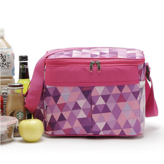 Portable Office Insulated Lunch Cooler Bag with Bottle Holder pictures & photos