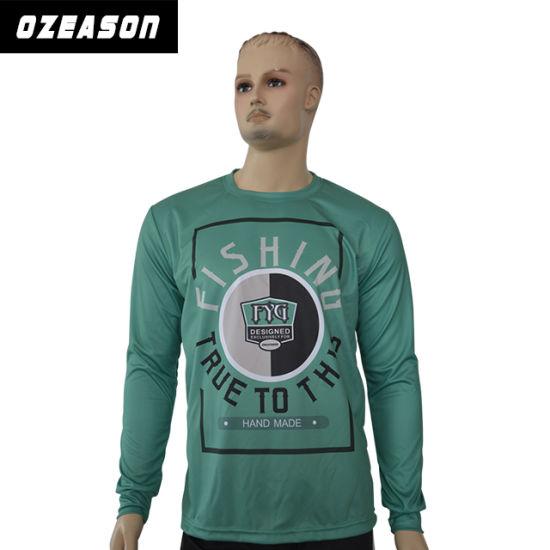 Wholesale Bulk Cheap Sublimation Long Sleeve T-Shirts (T008)