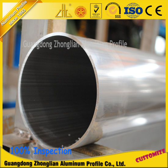 Hot Selling 6000series Large Diametre Circular Aluminum Alloy Tube/Pipe pictures & photos