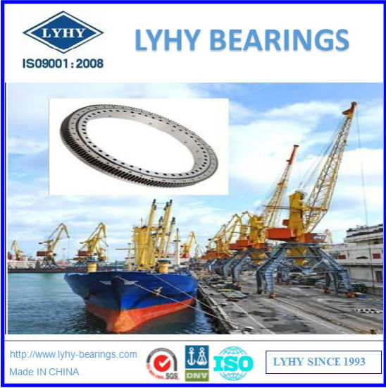 Slewing Ring Bearings for Shipyard Crane 131.45.2500