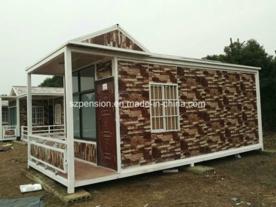 Economy Modern Conenvient Mobile Prefabricated/Prefab Coffee House/Bar pictures & photos