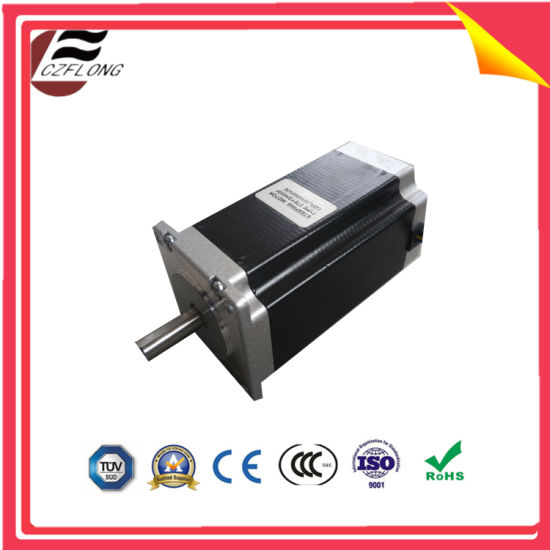 1.8 Deg NEMA34 Hybrid Stepping Motor for Embroidery Machine pictures & photos