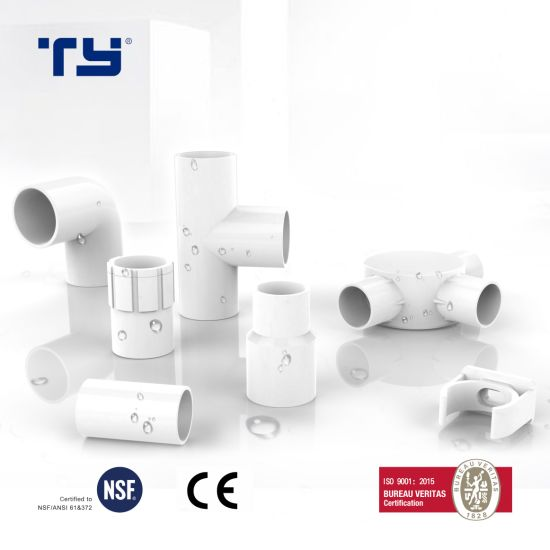 90 Deg Elbow Pvc Electrical Wiring Cable Protector Conduit Pipe Accessories Fitting China Upvc Pipe Upvc Fittings Made In China Com