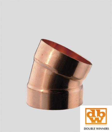 Wrot Copper Fitting (DWV 90° elbow)