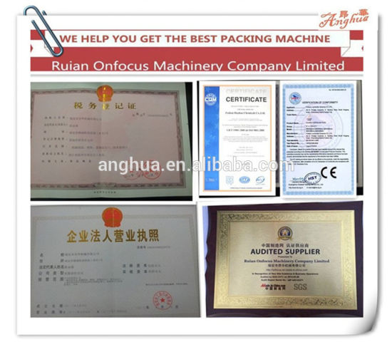 Automatic Powder Packing Machine (AH-FJJ300) pictures & photos