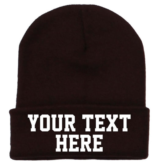 2018 Hot Sell Acrylic Winter Warm Knitted Beanie Hat Cap