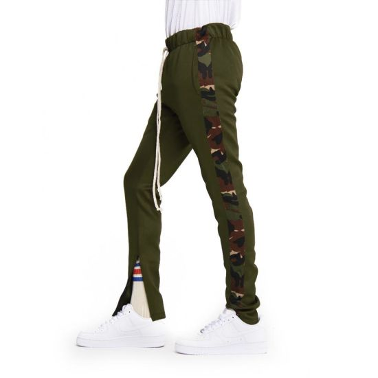 aa90727df2778f China Slim Fit Men Jogger Sweatsuit Striped Camo Track Pants - China ...