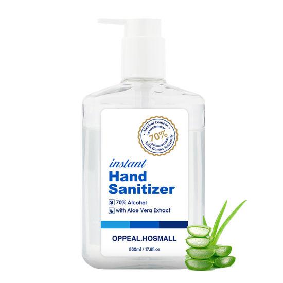 OEM&ODM Large Size 70% Alcohol Hand Sanitizer Wholesale 500ml Hand Sanitzer Gel
