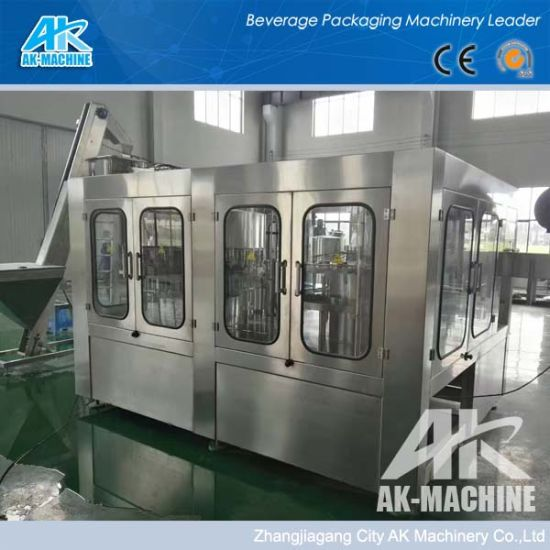 Automatic 3 in 1 Plastic Pure/Mineral Water Plant/Drinking Water Filling Machine/Bottling Machine/Water Production Line