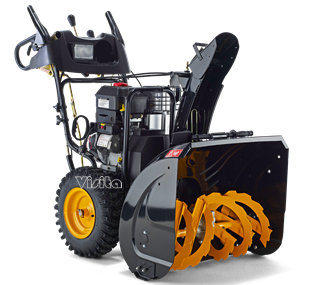 "420cc 34"" Snow Engine 2 Stage Chain Drive Snow Thrower pictures & photos"