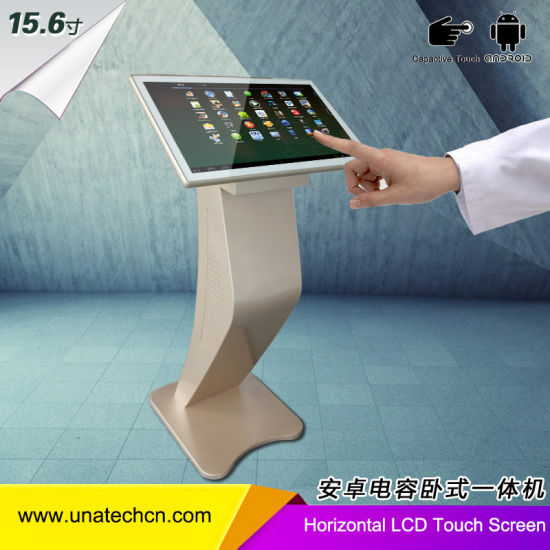 Ad Player LED Display Screen Horizontal Free Standing Capacitive Touch TFT LCD Display Panel with Android System