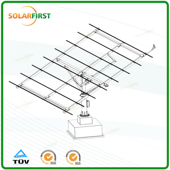 China Full-Auto Solar Dual Axis Tracking System Stand Alone