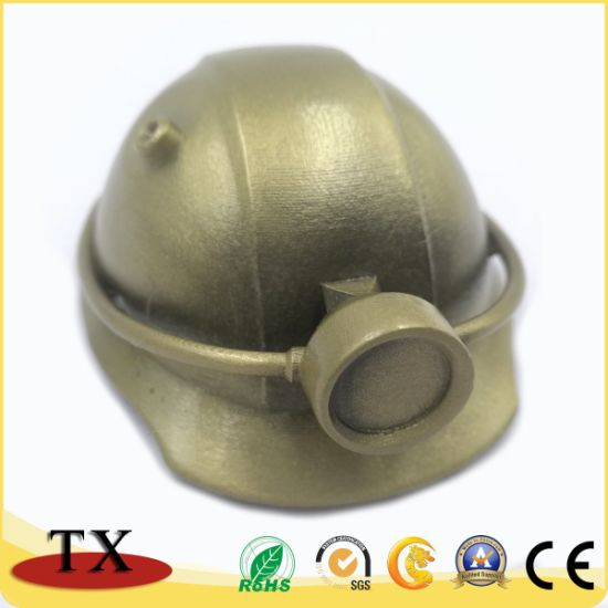 Copper Metal Lamp Helmet for Souvenir and Promotion