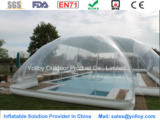 Hot Air Bubble Dome Tent for Swimming Pool pictures & photos