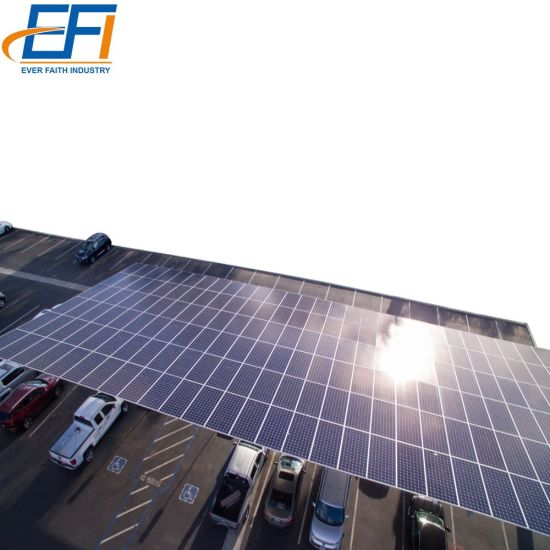 China Solar Canopy Mounting Structures Customized Residential Solar Carport Structures Car Port With Solar Panels China Solar Canopy Mounting Structures Customized Residential Solar Carport Structures