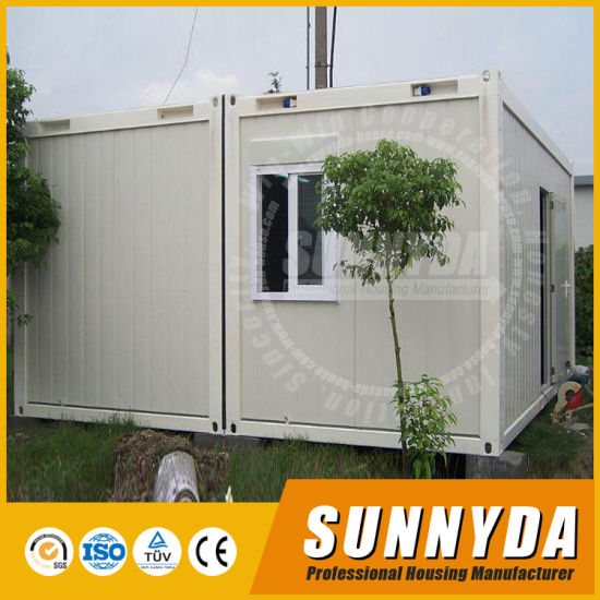 China New Arrival European Prefab Shipping Container Homes